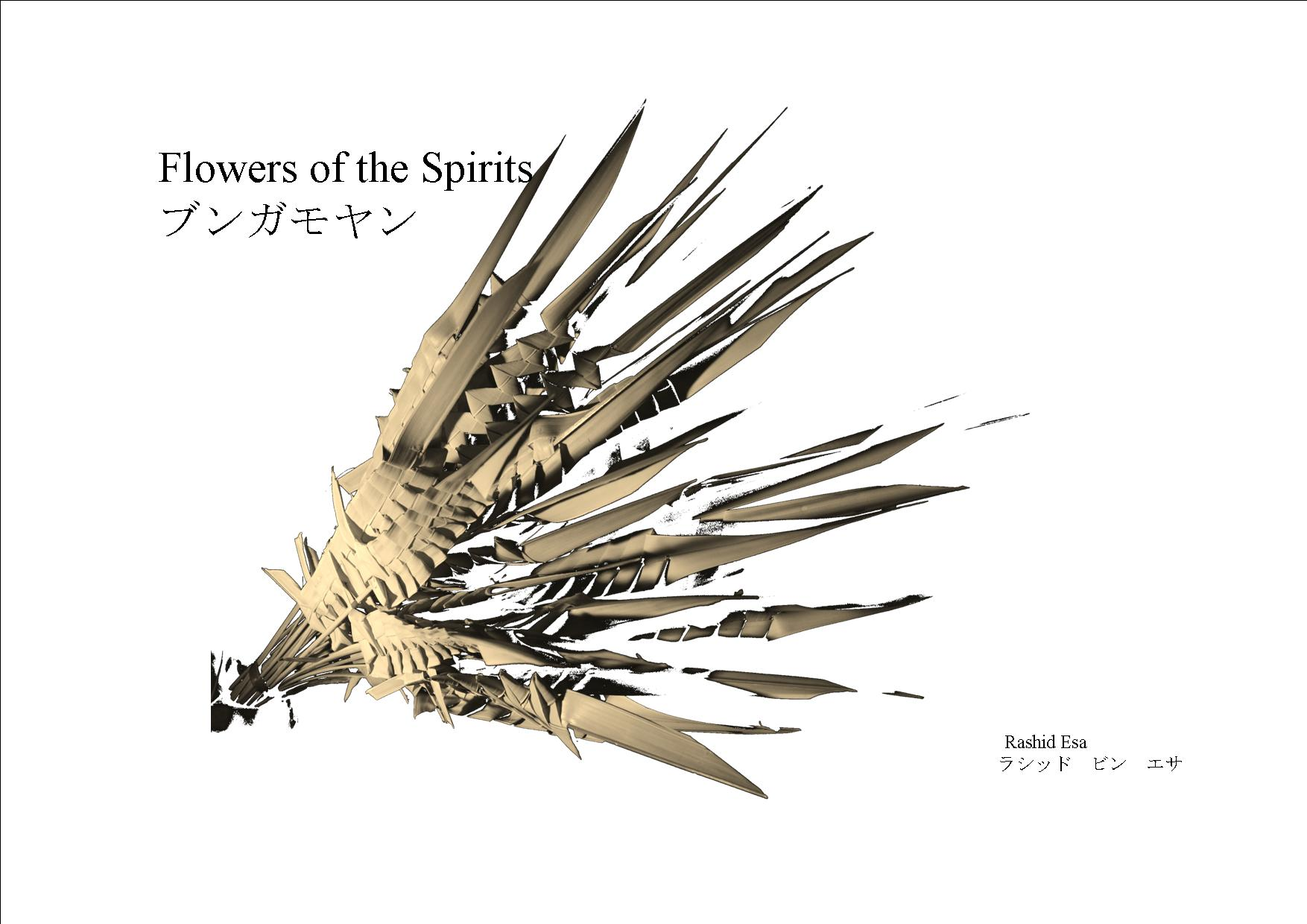 Flowers of the Spirits with Japanese translation Image